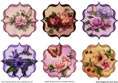 Toppers Floral 1