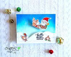Holiday hugs stamp set Craftin Desert Divas