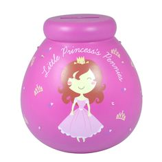 Piggy Bank for LITTLE PRINCESS  Money Savings Jar POT OF DREAMS Gift #Expressions4U #BirthdaysGraduationsChristmas