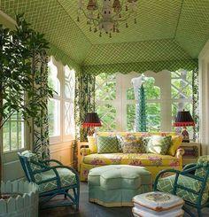 Beautiful sun room