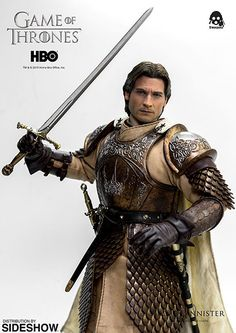 Jamie Lannister Kingslayer Figurine ~ $190 ~ Game of Thrones Gifts! Game Of Thrones Jaime, Game Of Thrones Gifts, Game Thrones, Lannister Family, Jaime Lannister, In Your Honor, Drama Games, Used Video Games, Thing 1