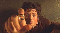 Frodo in the Prancing Pony