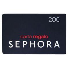 Carta Regalo Sephora di Sephora su Sephora.it | @giftryapp