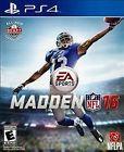 Madden NFL 16 (Sony PlayStation 4)
