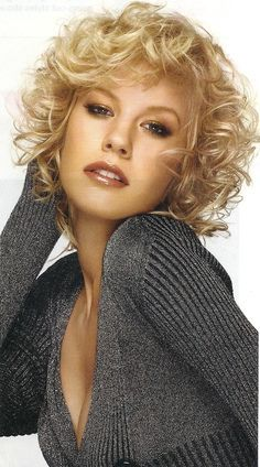 spiral perms for short hair - Google Search
