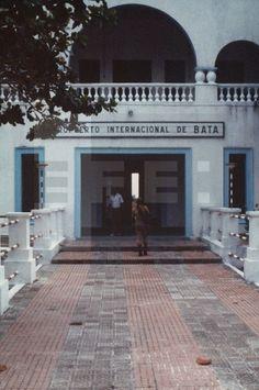 Bata (Guinea Ecuatorial) Ago. 1979.- Fachada principal del aeropuerto internacional de Bata, una de las ciudades más comerciales del país. EFE/yvlafototeca.com Image : efesptwo084747
