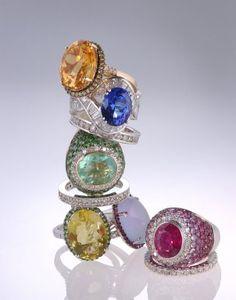 Gemstone Rings, Beautiful Gemstone Rings