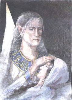 Thingol after Luthien's Death by Artafindushka.deviantart.com on @DeviantArt