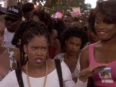 You know you grew up in the 90's when: 1). You had braids like those and can name the style  2). You know which movie this is from and what just happened   This is my favorite