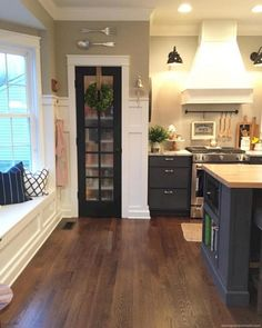 Decorate Awesome Kitchen with Farmhouse Cabinet 11