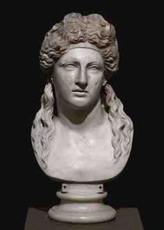 Roman Hair, Bacchus, Greek Art, Dionysus, Greek Mythology, Ancient Art, Naples, Marble, Museum
