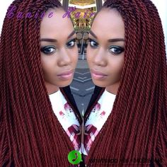 """ombre senegalese twist hair crochet micro braid hairstyles 22"""" (3pieces/lot) Senegalese Twist Freetress Braid Hair Extensions-in Bulk Hair from Health & Beauty on Aliexpress.com 