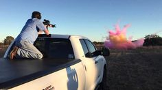 Gender Reveal Party - Texas Style (Guns and Tannerite)
