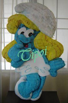 Piñata pitufina