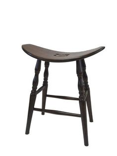 Amish Ohio Saddle Bar Stool