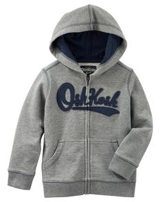 Toddler Boy French Terry Heritage Hoodie from OshKosh B'gosh. Shop clothing & accessories from a trusted name in kids, toddlers, and baby clothes.