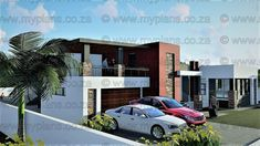 4 Bedroom House Plan – My Building Plans South Africa My Building, Building Plans, 4 Bedroom House Plans, Double Garage, Guest Suite, How To Plan, Architecture, South Africa, Mlb