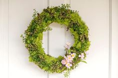 Spring Wreath Cover