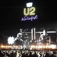 """Elevation"" #U2 #Dreamfest  Vía @222utah"