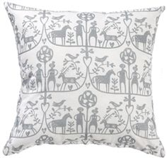 Klippan Adam & Eve linen/cotton cushions now in the sale at www.northlighthomestore.com