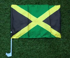 Our Jamaica Car Window Flag is the perfect addition to your car so that you can fly your colours! So if your feeling patriotic, buy your flag and hold it high!