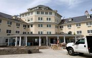 Cedar Point is in the final, frenzied weeks of a massive remodel of the aging Hotel Breakers, which opened in 1905, when most guests arrived by boat.