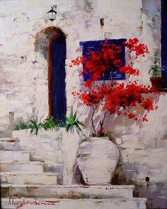 Greece 100x80 oil on canvas 1998