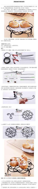 DIY Wire Plum Flower Coaster DIY Projects | UsefulDIY.com Follow Us on Facebook ==> http://www.facebook.com/UsefulDiy