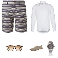 Streepjes Outfit - #Suit #Mexx #Diesel #RayBan #Superdry - Clooy.nl