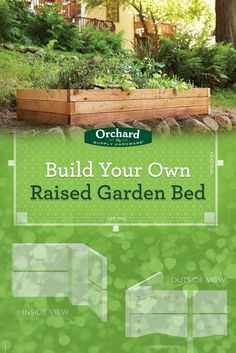 Build Your Own Raised Garden Bed! Build a garden that speaks to you, anywhere you can imagine. Grab a drill, shovel, safety gear and let the project begin.