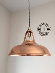 The Cawston Solid Copper coolicon Industrial factory shade light ceiling dining room kitchen table vintage breakfast bar lamps pendant bar Best Breakfast Bars, Breakfast Bar Table, Breakfast Bar Lighting, Eat Breakfast, Industrial Dining, Vintage Industrial, Copper Lamps, Kitchen Lighting, Table Lighting
