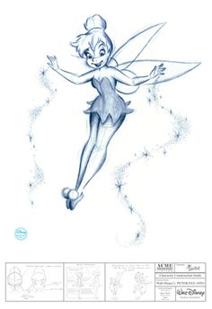 Silver K Gallery - Disney Limited Editions.  The Magic of Tink