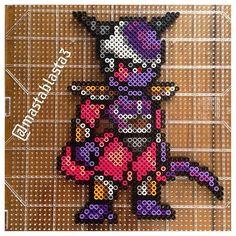 Lord Frieza - Dragon Ball perler beads by mastablasta3