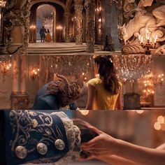 Tale as old as time, true as it can be. Barely even friends, then somebody bends unexpectedly. Just a little change, small to say the least. Both a little scared, neither one prepared. Beauty and the Beast.