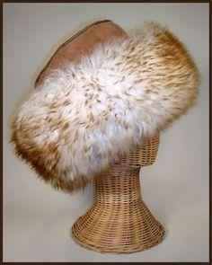 Sierra Sheepskin Hat, Long Wool.  Love this hat!  Warm and fun to pet!
