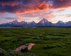 The Grand Tetons in Wyoming...my second home.