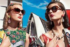 Prada Spring 2012 Ad Campaign  Ymre Stiekema, Katryn Kruger, photographed by Steven Meisel