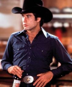 "John Travolta in ""Urban Cowboy"""