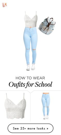 """cute school style"" by ashleydlc on Polyvore featuring Aéropostale"