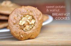 Sweet Potato and Walnut Breakfast Cookies | 23 Grain-Free Breakfasts To Eat On The Go