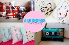 almofadas divertidas decoração