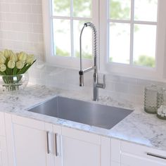 """30"""" x 18"""" Undermount Kitchen Sink with Sink Grid and Drain Assembly"""
