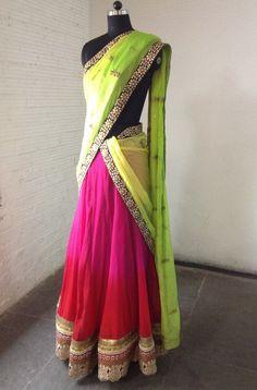 Half saree...!!