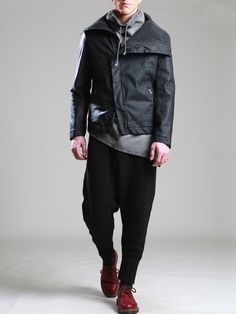 Cotton Jacket with Fleece lining by SYNGMAN CUCALA