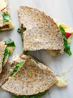 This Apple, Chicken, and Brie Quesadilla is crunchy, creamy, and a delicious…