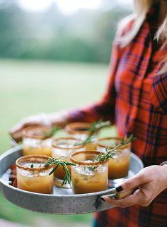 Apple Cider-Bourbon Cocktail for a Fall Wedding | Brides.com