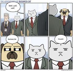 The Adventures of Business Cat - Confrontation by tomfonder.deviantart.com on @DeviantArt