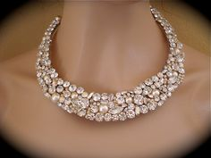 Swarovski Crystal Pearl and Crystal Rhinestone by TheCrystalRose, $250.00