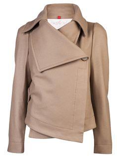 Vivienne Westwood Red Label Classic Short Coat in Beige (camel)