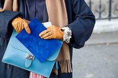 Color + camel accessories.